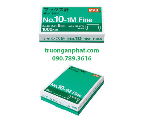 Kim bấm số 10 Max No.10-1M Fine/VN