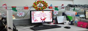 Những lưu ý khi trang trí văn phòng dịp Giáng Sinh