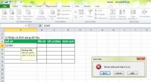 Giới Hạn Độ Dài Dữ Liệu Nhập Excel | Mẹo Hay Văn Phòng